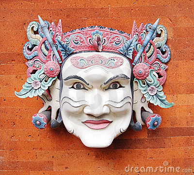 Free Balinese Mask, Traditional Royalty Free Stock Images - 12741289