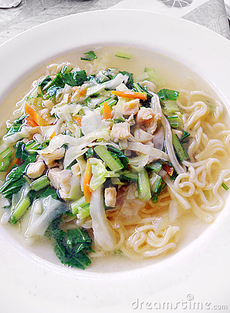 Free Balinese Noodles Dish Stock Images - 7952724