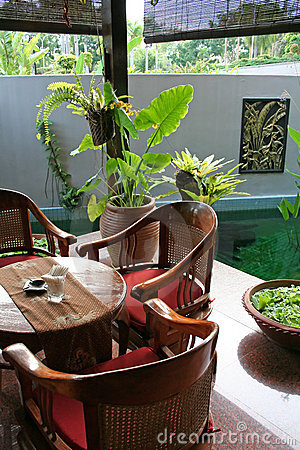 Balinese table