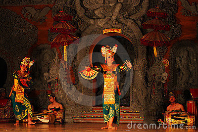 Balinese traditional dance Editorial Image