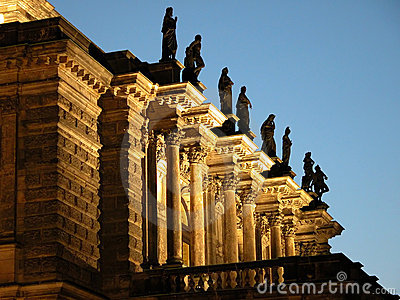 Balkon der Oper
