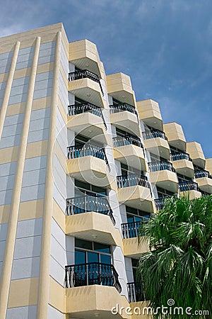 Balkonowy hotel