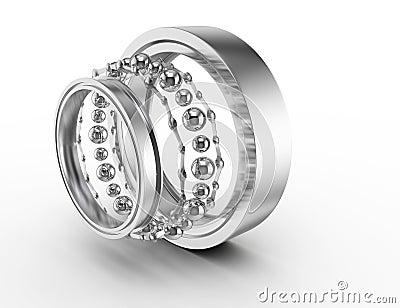 Ball bearing parts