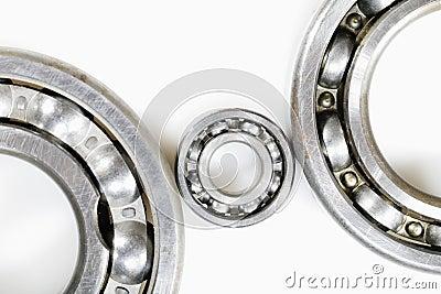 Ball bearings against whites
