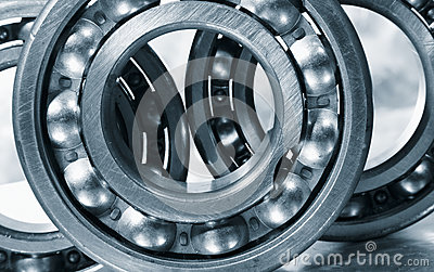 Ball bearings in close ups