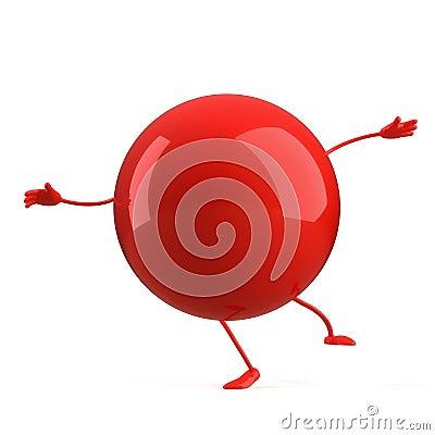 Ball character