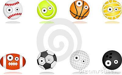 Ball character set
