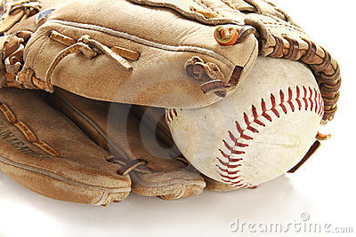 Ball and glove