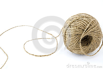 ?ball of hemp rope