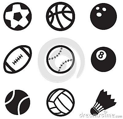 Free Ball Icons Royalty Free Stock Photos - 21847208