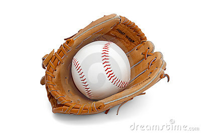 Ball in kids glove