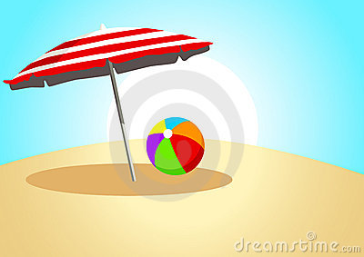 Ball and Parasol