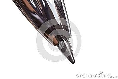 Ball Point Pen Tip Extreme Macro