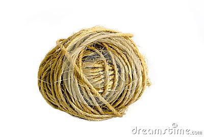Ball of sisal cord