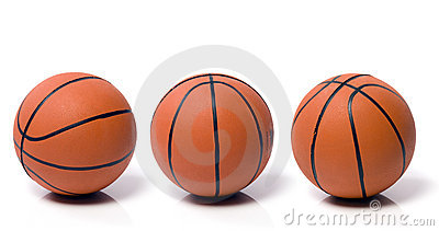 Ball to the basket-ball