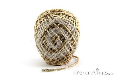 Ball to linen thread