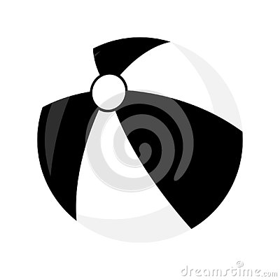 Free Ball Toy Isolated Icon. Simple Style. Vector Illustration Stock Photos - 126496403