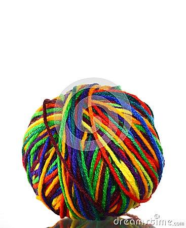 Ball Of Yarn Royalty Free Stock Photos Image 6057988