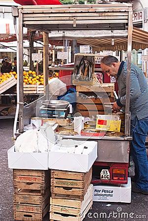 Ballaro market in palermo Editorial Photography