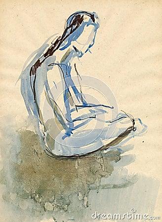 Ballerina, drawing 15
