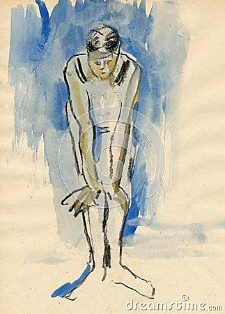 Ballerina, drawing 7