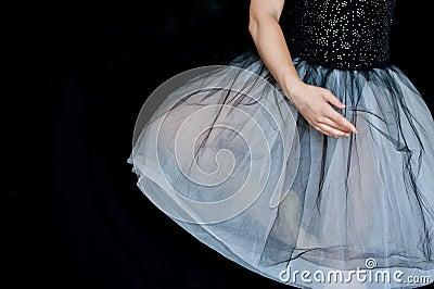 Ballerina in position