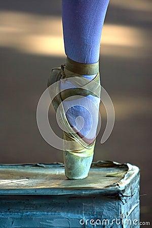 Ballerina s foot