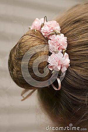 Ballerina s hairdo
