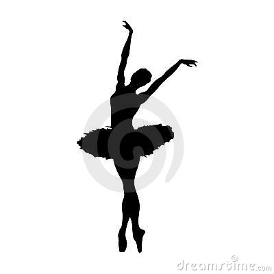 Free Ballerina Silhouette Royalty Free Stock Images - 10917249