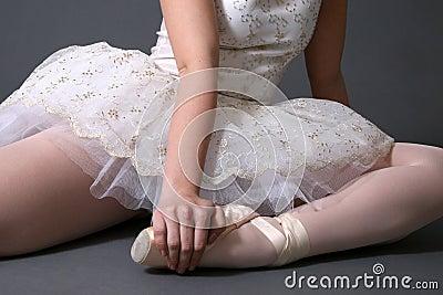 Ballerina Sitting #1
