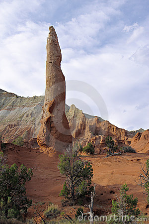Free Ballerina Spire In Kodachrome Basin Stock Images - 22915134