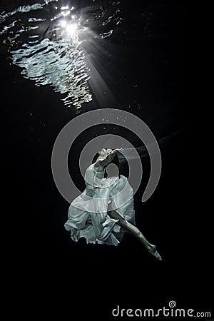 Free Ballerina Underwater Royalty Free Stock Photos - 73705028