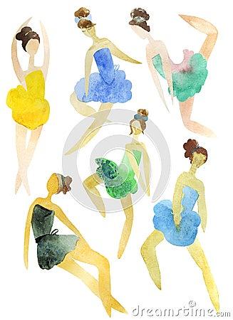 Ballerinas set