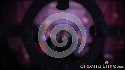 Ballerini di flamenco della sfuocatura archivi video