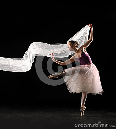 Free Ballet Dancer Royalty Free Stock Photography - 41425567