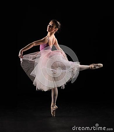 Free Ballet Dancer Royalty Free Stock Image - 41425586