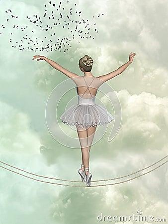 Free Ballet Dancer Royalty Free Stock Photos - 50184688