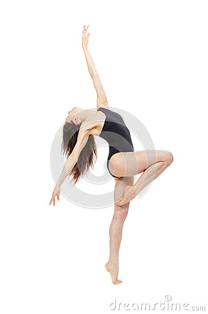 Free Ballet Dancer Contemporary Style Woman Royalty Free Stock Image - 31152316