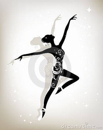 Free Ballet Dancer For Your Design Stock Image - 19384221