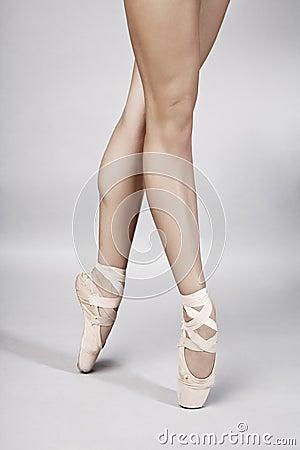 Ballet dancer legs
