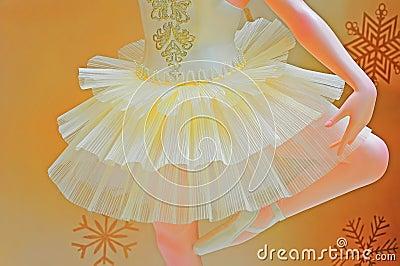 Ballet dancer mannequin