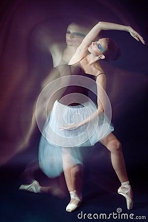 Ballet dancer motion