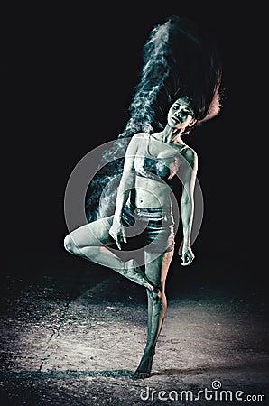 Ballet Dancer Practicing Free Public Domain Cc0 Image