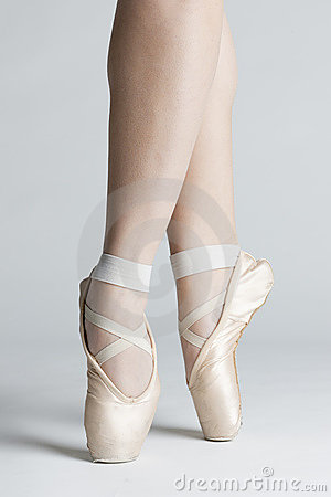 Ballet dancer s feet