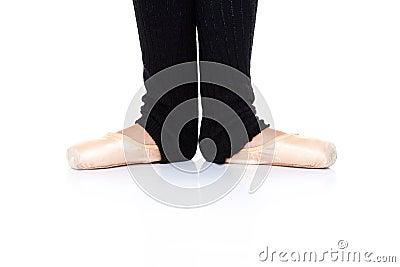 Ballet feet position - en pointe