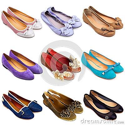 Ballet flat shoes-2