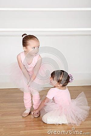 Free Ballet Friends Stock Photo - 46478730