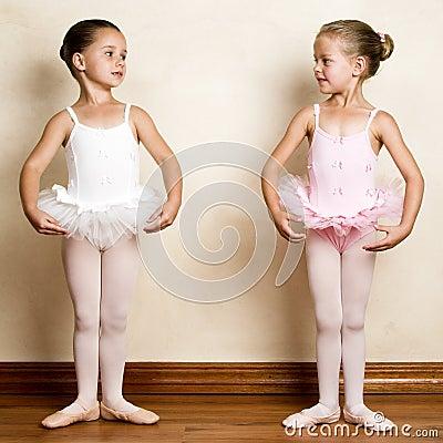 Free Ballet Girl Stock Image - 10730341
