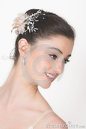 Free Ballet Profile Stock Photo - 4121840