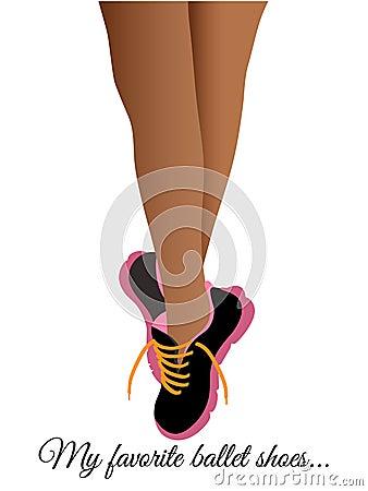 Ballet Runners Tennis Shoes